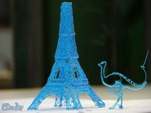 5124d39ab3fc4b1eb3000156_3d-printing-pen-meets-kickstarter-goal-in-hours_3doodler_eiffel_tower